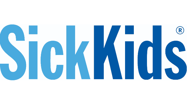 The Hospital for Sick Children and the Temerty Faculty of Medicine, University of Toronto logo