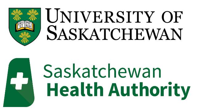 Saskatchewan Health Authority, University of Saskatchewan logo