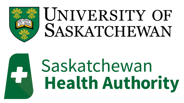 Saskatchewan Health Authority and University of Saskatchewan logo